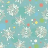 Flocos de neve de papel Fotos de Stock Royalty Free