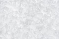 Flocos de neve do â das texturas (próximos) foto de stock