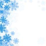 Flocos de neve do fundo Imagem de Stock