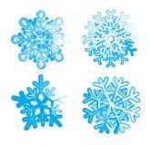 Flocos de neve do gelo Imagens de Stock