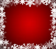 Flocos de neve do Natal   Foto de Stock Royalty Free
