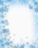 Flocos de neve do Natal Imagens de Stock