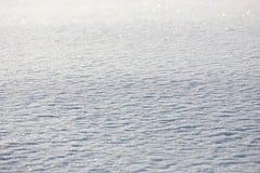 Flocos de neve frescos Fotos de Stock Royalty Free