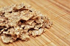Flocos do cereal foto de stock