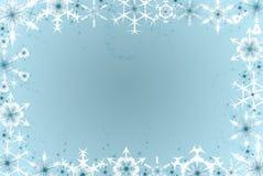 Flocos do inverno Fotografia de Stock