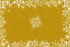 Flocos do ouro Imagens de Stock