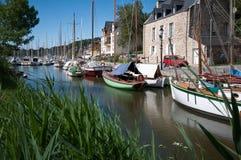Flodöppning av La Roche-Bernard fotografering för bildbyråer