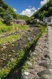 Flod östliga Lin i Lynmouth royaltyfri fotografi