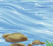 flod stock illustrationer