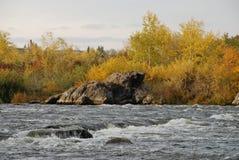 Flod royaltyfri foto