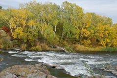 Flod fotografering för bildbyråer