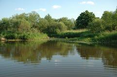 flod Royaltyfria Bilder