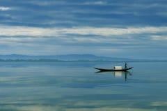 Flod av Bangladesh Royaltyfri Fotografi