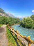 Flod av berget Royaltyfri Foto