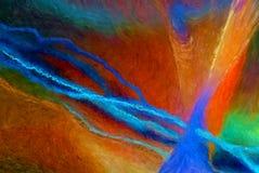 Flod av färgabstrakt begrepp