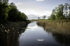 Flod av fred royaltyfri bild