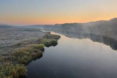 Flod av hösten Arkivfoton