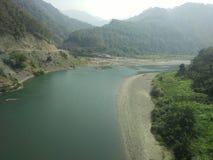 Flod av Mizoram Arkivbild