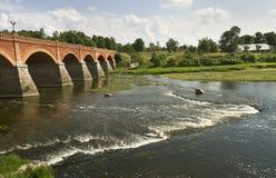 Flod av Venta Arkivfoton