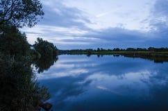 Flod Bann Royaltyfria Foton