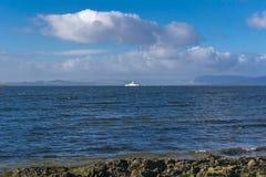Flod Clyde i Skottland Royaltyfria Bilder