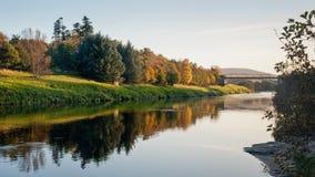 Flod Dee Aberdeen UK Arkivfoton
