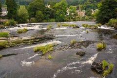 Flod Dee och Llangollen Royaltyfri Fotografi
