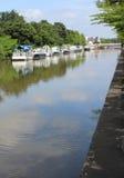 Flod Dender Arkivfoto