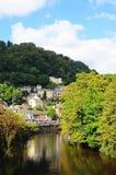 Flod Derwent, Matlock bad royaltyfri fotografi