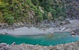 Flod efter flod Fotografering för Bildbyråer
