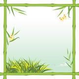 flod för bamburamkind royaltyfri illustrationer
