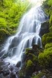 flod för bild för klyfta för columbia fefalls Arkivfoto