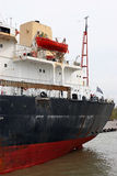 flod för fartyglastgreec Royaltyfri Bild