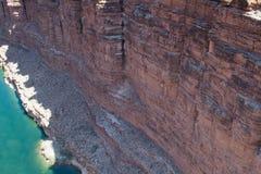 flod för kanjoncolorado marmor Fotografering för Bildbyråer