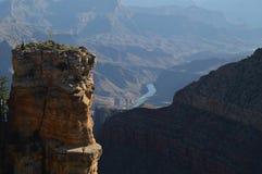 flod för kanjoncolorado tusen dollar geologiska bildande royaltyfri bild