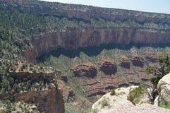 flod för kanjoncolorado tusen dollar Hermist vilar rutten geologiska bildande Royaltyfri Fotografi