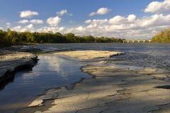flod för maumee 4 Arkivbilder