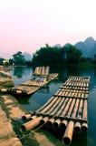 flod för porslinguilin li Arkivbilder