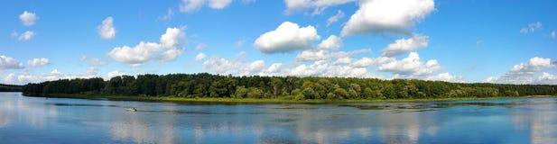 Flod från lutningen Royaltyfri Foto