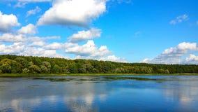 Flod från lutningen Royaltyfri Bild