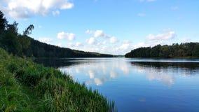 Flod från lutningen Royaltyfria Foton