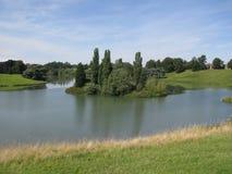 Flod Glyme. Royaltyfria Foton