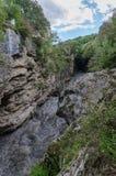 Flod i berget Royaltyfri Foto