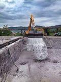 Flod i Bosnien Royaltyfri Fotografi