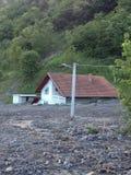 Flod i Bosnien Royaltyfria Foton
