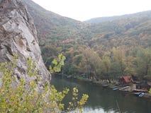 Flod i den Ovcar - Kablar kanjonen Royaltyfri Foto