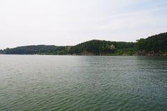 Flod i Korea Royaltyfri Foto