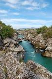 Flod i Montenegro Fotografering för Bildbyråer
