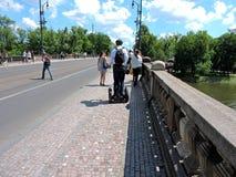 Flod i Prague Royaltyfria Foton
