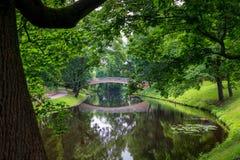 Flod i Riga royaltyfri foto